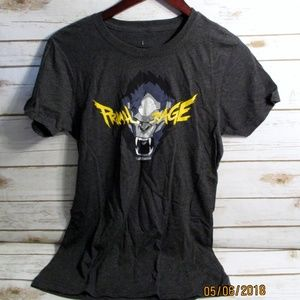 Exclusive Overwatch Winston Primal Rage T-Shirt-L